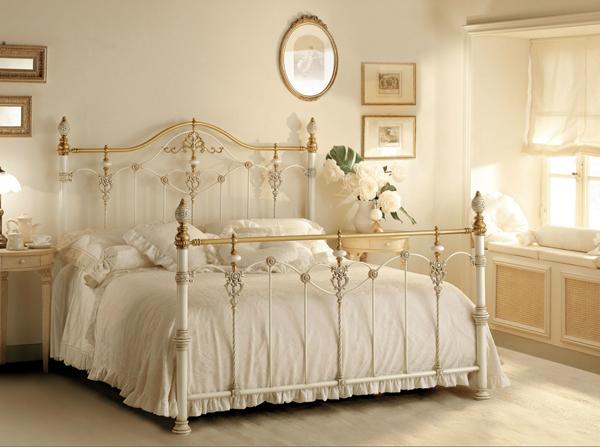 C mo restaurar y actualizar una cama de bronce tienda - Fotos de dormitorios romanticos ...