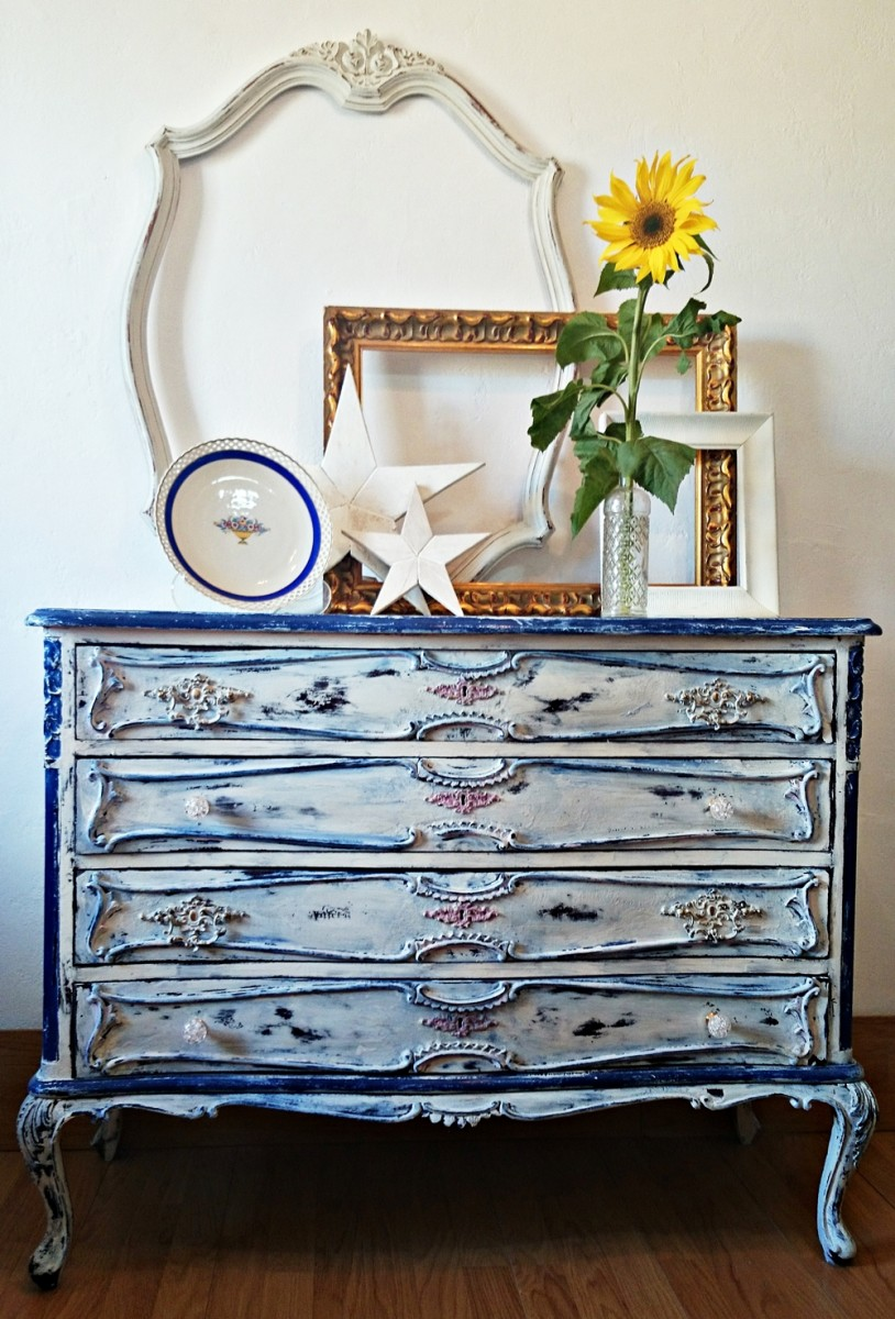 21 ideas para decorar la entrada con una c moda tienda - Muebles de entrada vintage ...