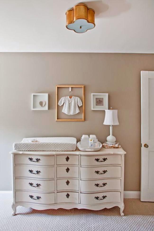 Una c moda shabby para un beb a shabby chest of drawer - Comoda cambiador bebe ...