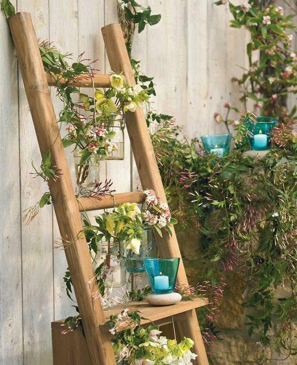 maneras de utilizar una escalera de madera para decorar tienda online de decoracin y muebles