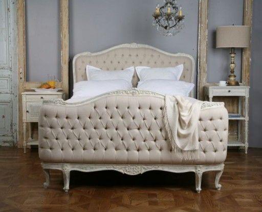 10 camas tapizadas estilo luis xv 10 louis xv for Cama luis xv