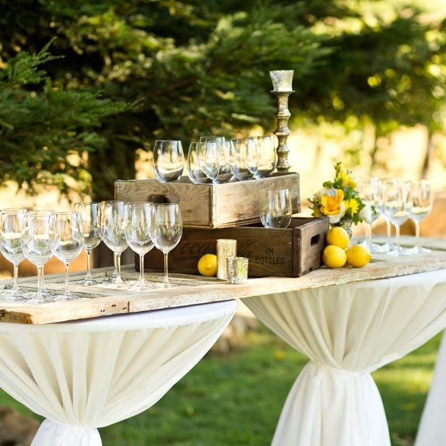 ideas para decorar un banquete de bodas tipo cctel