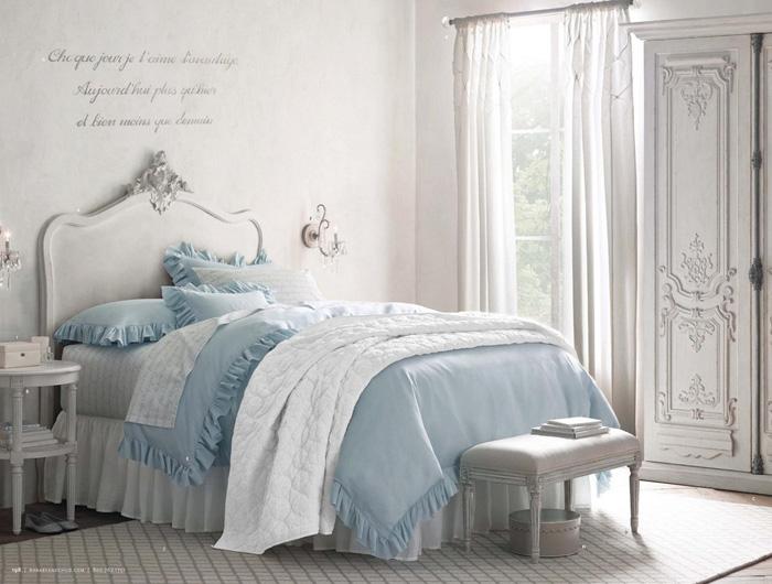 11 dormitorios rom nticos en tonos pastel para chicas for Muebles romanticos