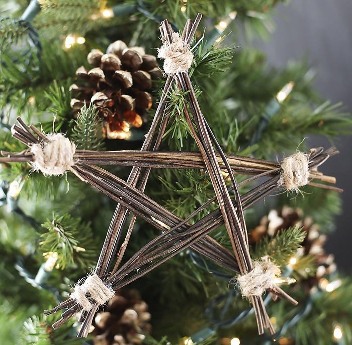 19 ideas para hacer detalles navideños con ramas secas | Tienda ...
