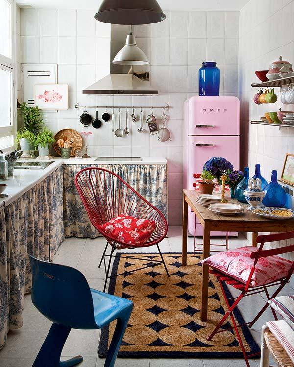 Un apartamento bohemio en madrid tienda online de for Casas de muebles en madrid