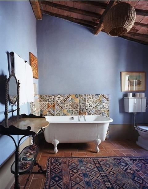 Baños Estilo Bohemio:Bohemian Bathroom Design