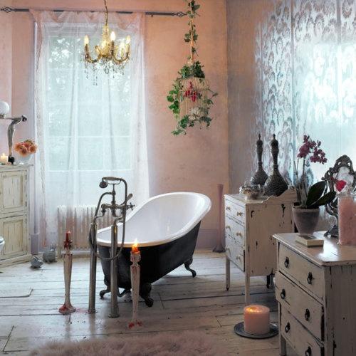 Baños Estilo Bohemio:Bohemian Style Bathroom