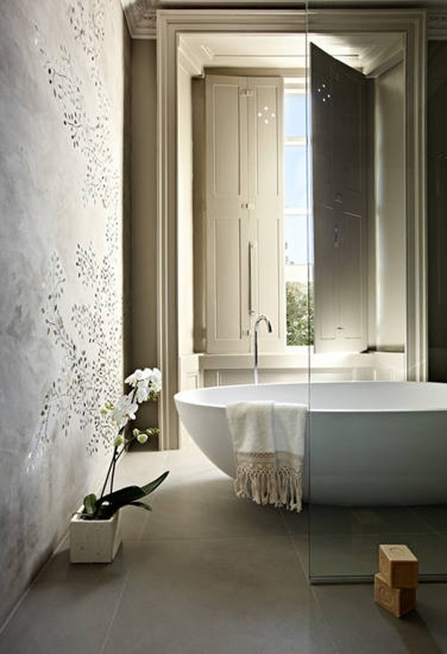 Baños Estilo Bohemio:Bohemian Modern Bathroom Designs