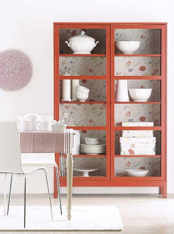Ideas para actualizar muebles con papel pintado decoraci n - Papel pintado para muebles ...