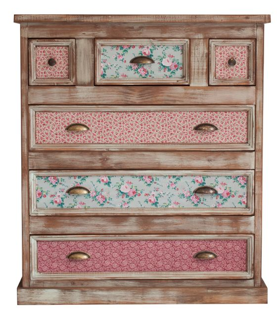 Ideas para actualizar muebles con papel pintado tienda - Muebles restaurados online ...