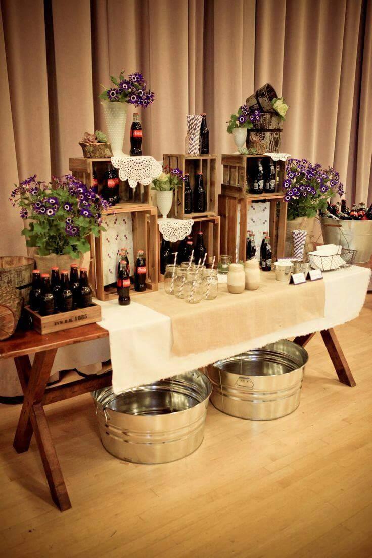24 ideas para decorar con cajas de frutas una boda for Ideas para decorar una boda