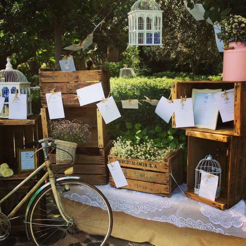 las cajas de madera quedan ideales tambin como recipientes para un elemento en una ceremonia nupcial las por ejemplo usaras