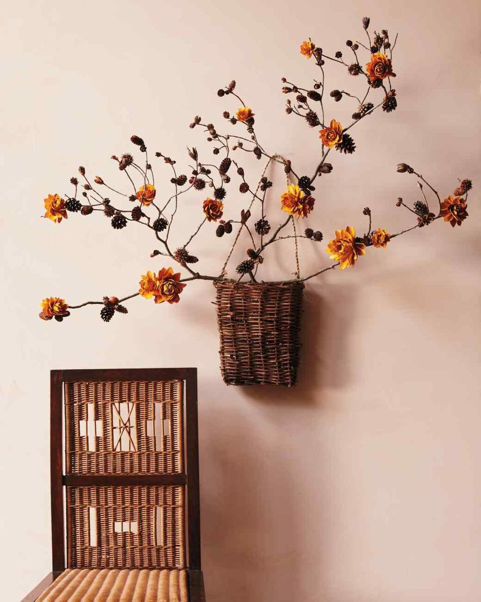 24 ideas para decorar con cestos de fibras naturales for Ideas deco hogar