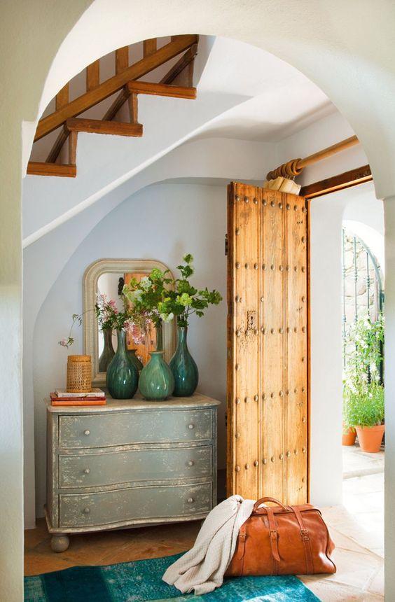 ideas para decorar la entrada con una cmoda