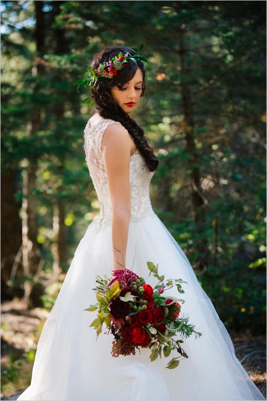 Ideas para una boda inspirada en blancanieves tienda for Planta ornamental blanca nieves