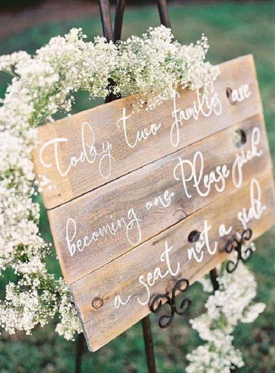 Ideas Para Matrimonio Rustico : Ideas para utilizar un palet en una boda rústico chic