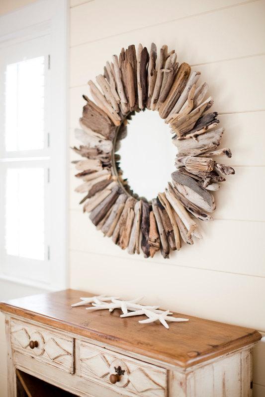 18 Ideas para decorar con madera recogida del mar | Tienda online de ...