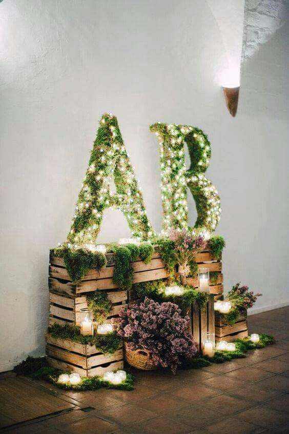 ideas para decorar con cestas una boda