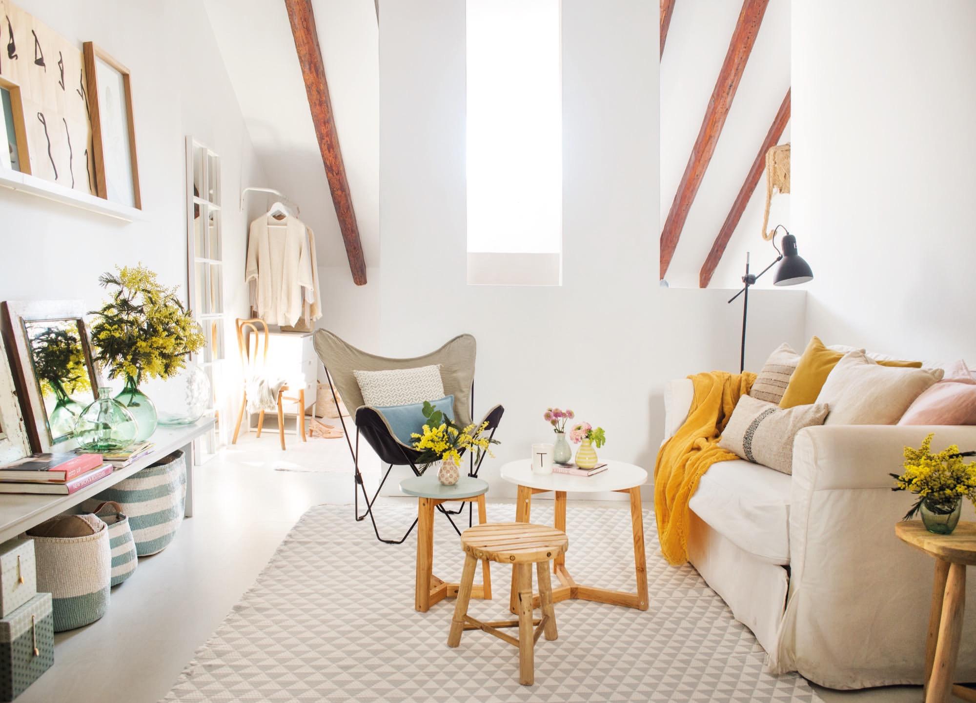 Un apartamento que combina el estilo r stico y n rdico for Escuela de decoracion de interiores