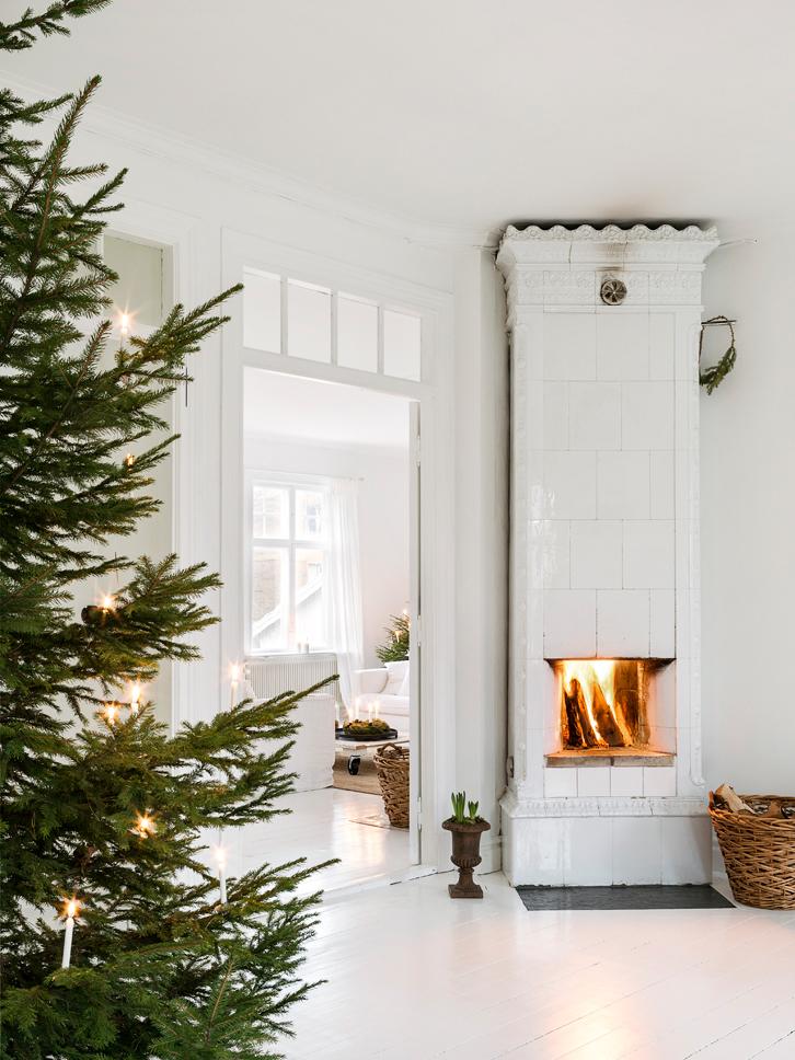 Una casa n rdica vestida para navidad tienda online de - Una casa para navidad ...