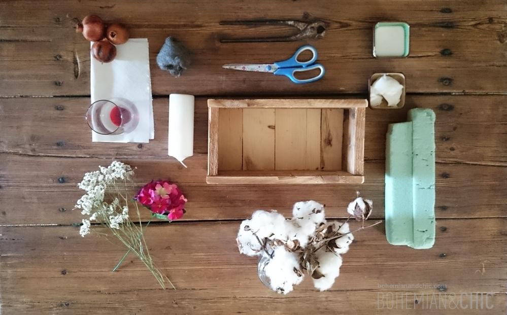 cmo hacer un centro de flores otoal