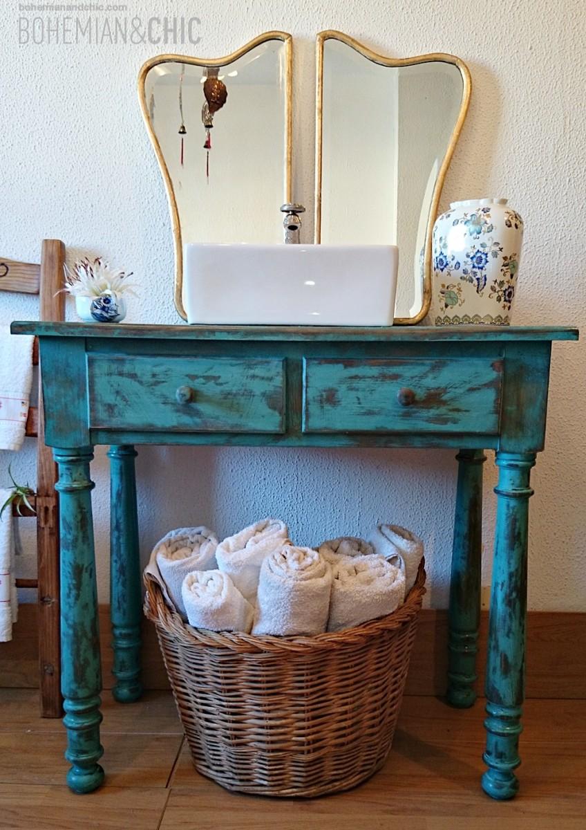 2 versiones de muebles de ba o artesanales y personalizados tienda online de decoraci n y - Mueble de bano antiguo ...