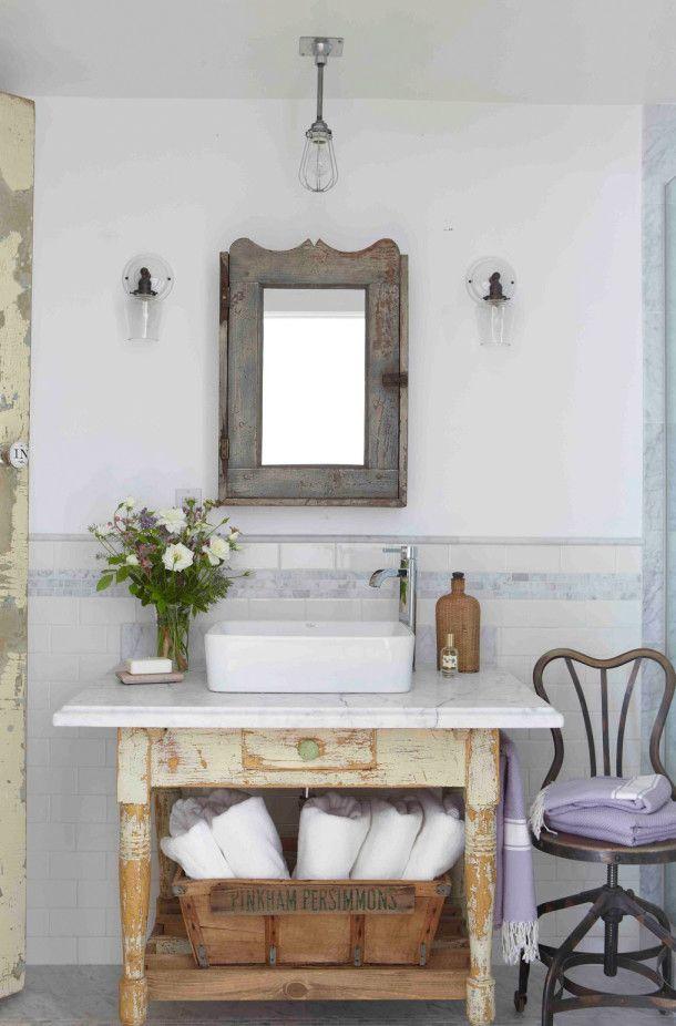 Muebles Para Baño Hechos En Casa:Rustic Bathroom Vanity Ideas