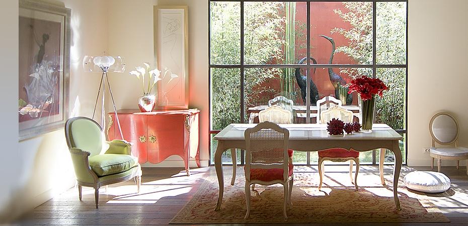 18 ideas de donde poner una silla estilo luis xv - Salle a manger provencale ...
