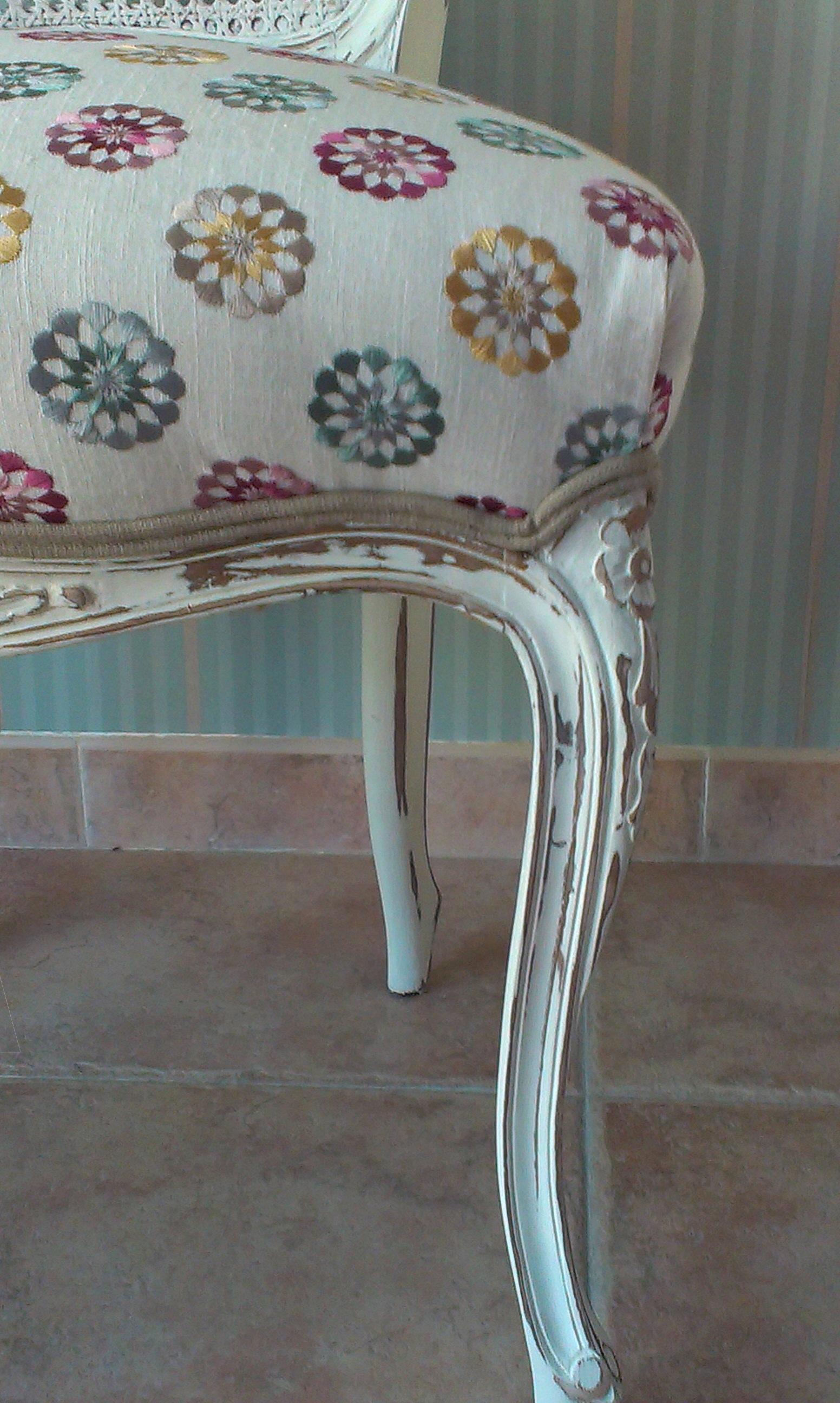 Sillas vintage estilo luis xv vintage chairs louis xv - Sillas tapizadas vintage ...