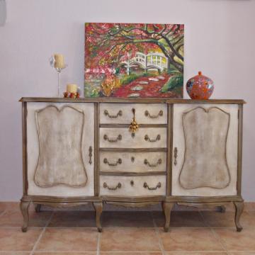 7 ideas originales muebles para lavabos dobles hechos con - Transformar muebles antiguos ...