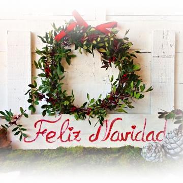 19 ideas para hacer detalles navide os con ramas secas for Decoracion navidena artesanal