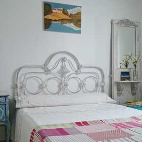 Antigua cama de forja estilo shabby tienda online de - Cabeceros de forja antiguos ...