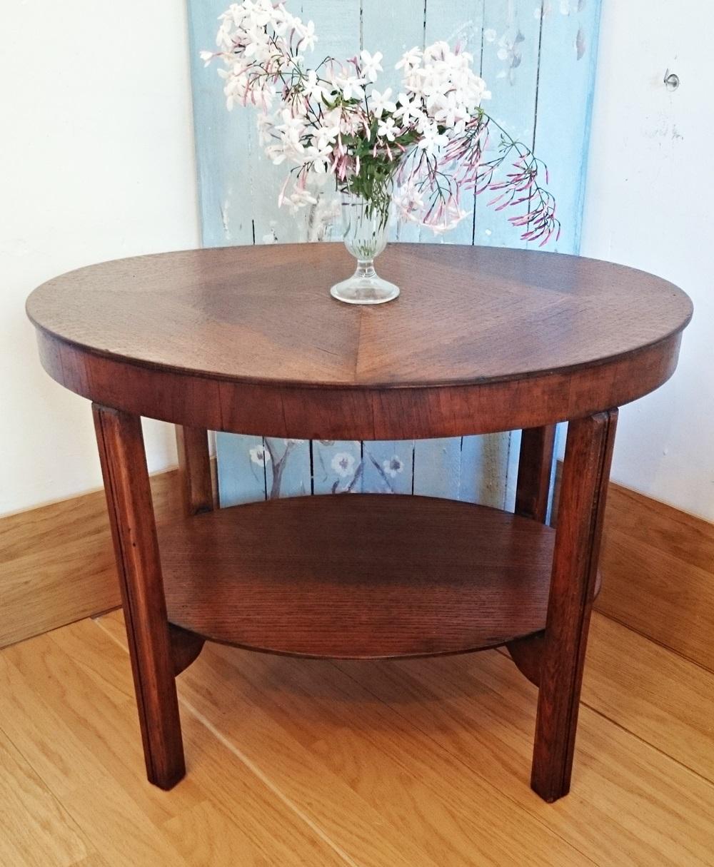 Mesa auxiliar vintage ovalada tienda online de decoraci n y muebles personalizados - Mesa auxiliar ...