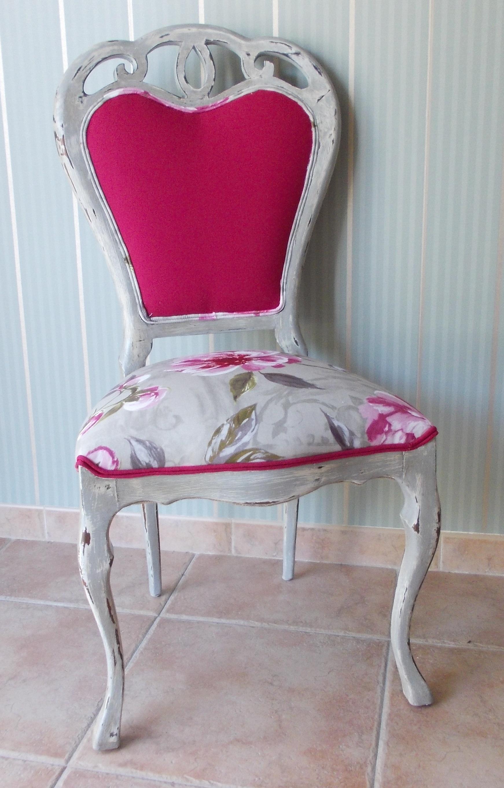 Silla vintage en gris tienda online de decoraci n y for Sillas en gris