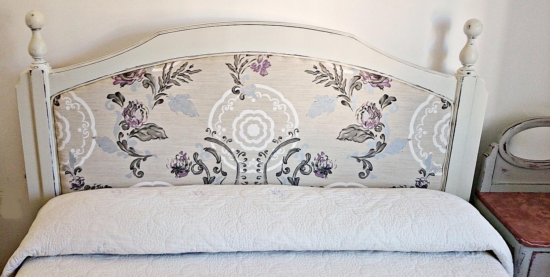 Cabecero de cama tapizado con motivo floral tienda - Cabeceros de cama tapizados ...