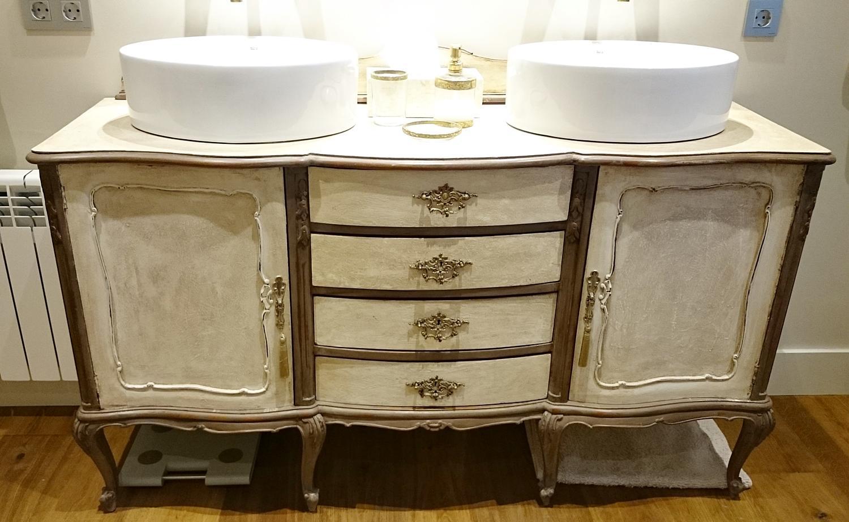 Mueble de ba o vintage estilo luis xv tienda online de - Muebles online vintage ...