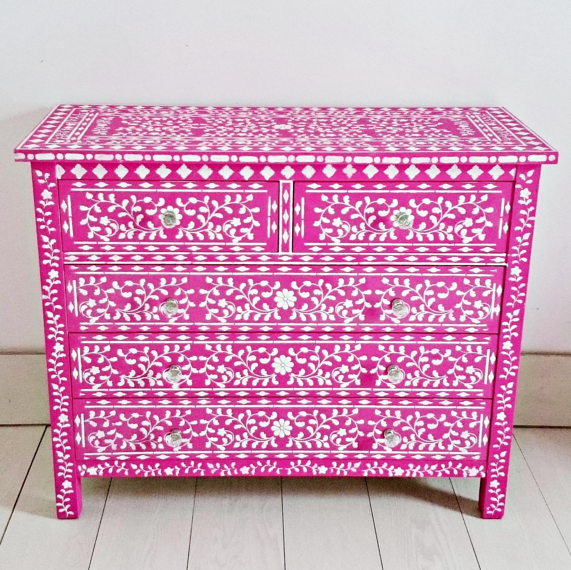 C moda estilo tnico en fucsia tienda online de - Comodas de estilo ...