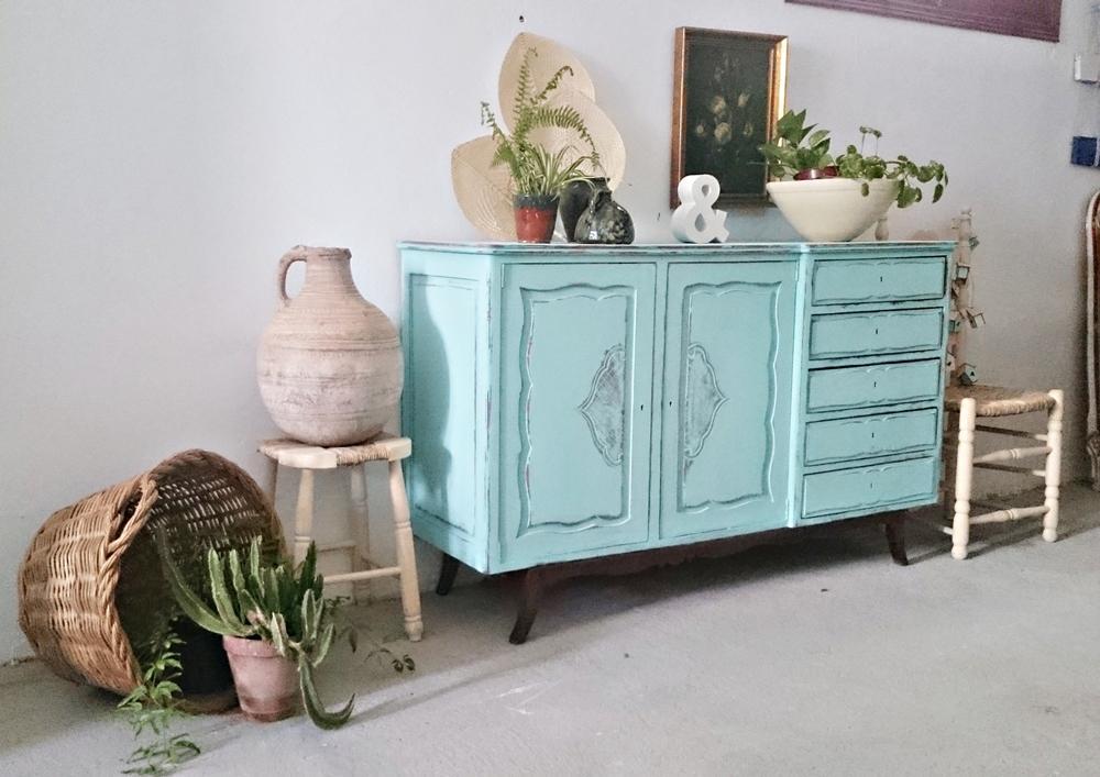 Aparador Retro Mdf Amarelo ~ Aparador vintage mint Tienda online de decoración y