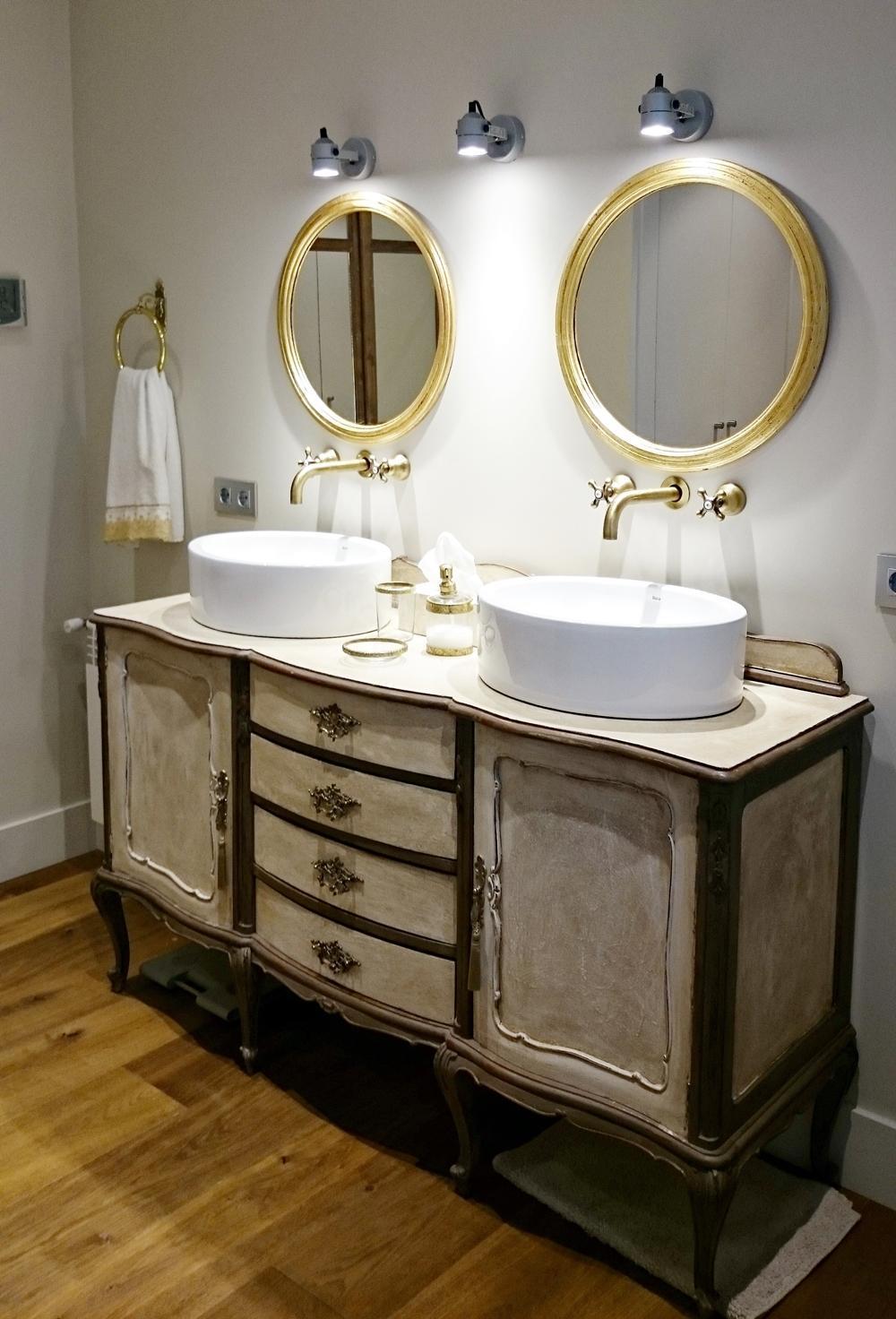 Mueble de ba o vintage estilo luis xv tienda online de - Estilo vintage muebles ...