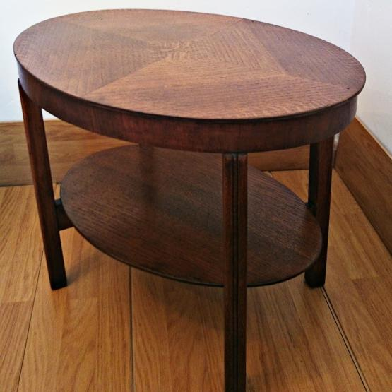 Mesa auxiliar vintage ovalada | Tienda online de decoración y ...