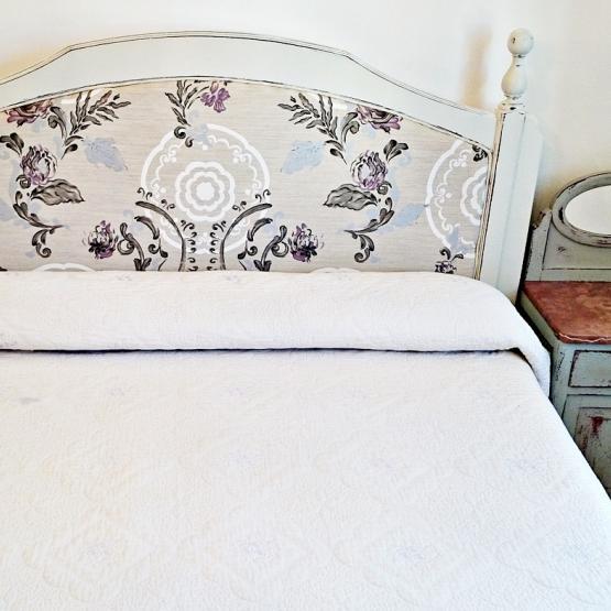 Tapizar un cabecero de cama cheap la imagen se est - Tapizar cabecero de cama ...