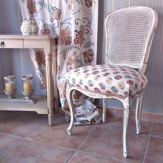 Sillas vintage estilo lu s xv tienda online de - Venta muebles vintage ...