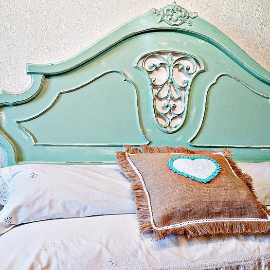 Cabecero vintage color Mint