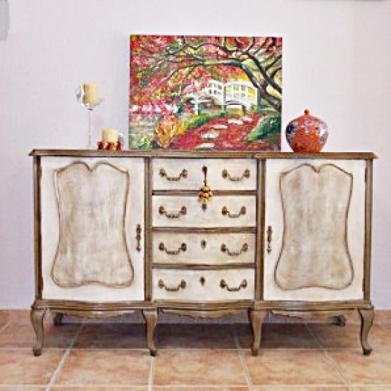 Aparador Retro Mdf Amarelo ~ Aparador vintage Tienda online de decoración y muebles