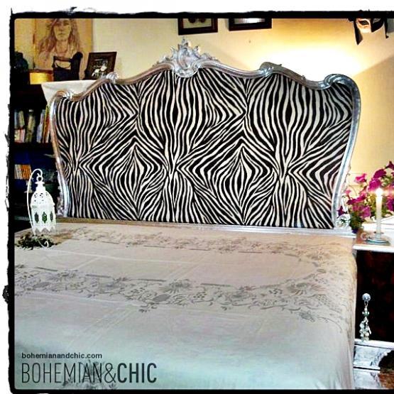 cabecero cebra y pan de plata estilo Luis xv | Tienda online de ...