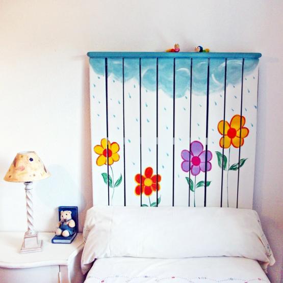 Cabecero ni o lluvia tienda online de decoraci n y muebles personalizados - Cabeceros ninos ...