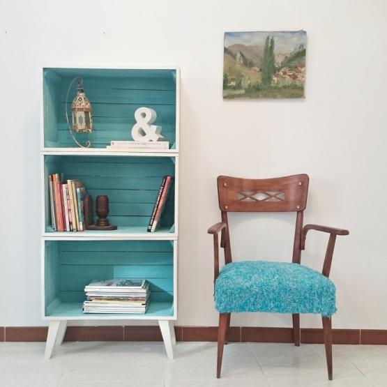 Estanter a patas aguja nordic tienda online de for Muebles de decoracion online