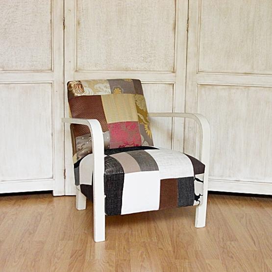 Peque o sill n art dec tienda online de decoraci n y for Art deco decoracion