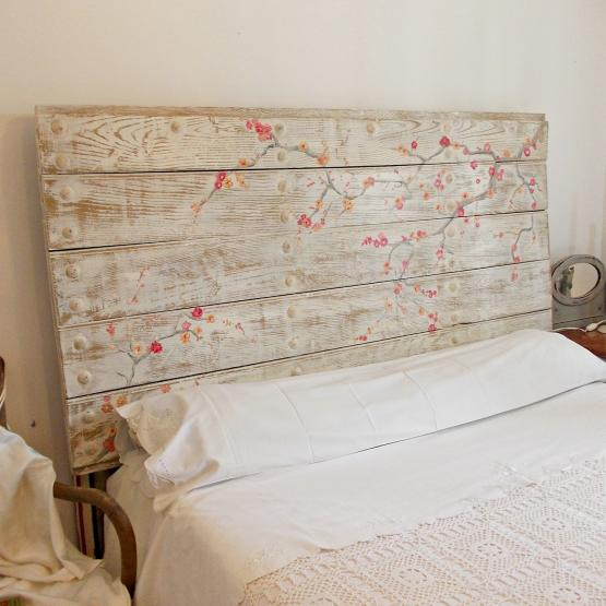 Cabecero rústico shabby | Tienda online de decoración y muebles ...