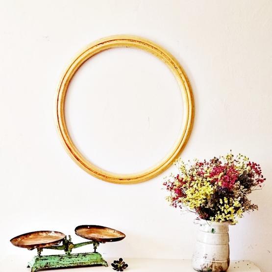 Espejo Redondo Pan De Oro Tienda Online De Decoraci N Y